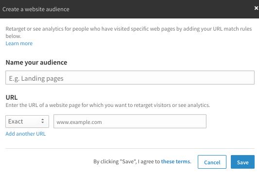 Creating LinkedIn Audience